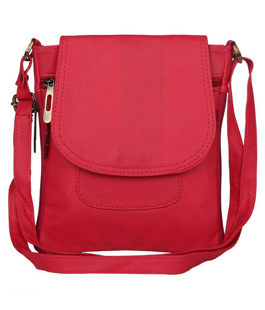 Coash Pink Sling Bags