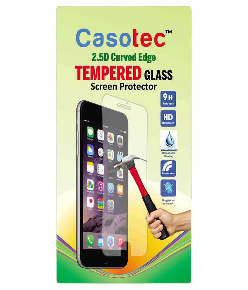 HTC Desire 728G Tempered Glass Screen Guard by Casotec