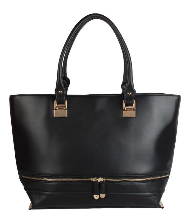 Louise & Harris Black Shoulder Bag