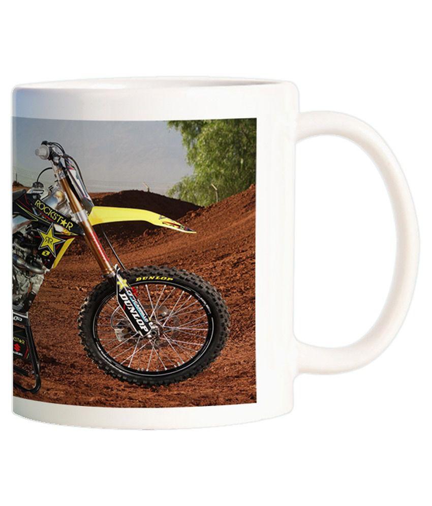 Funturoo Multicolour Ceramic Mug