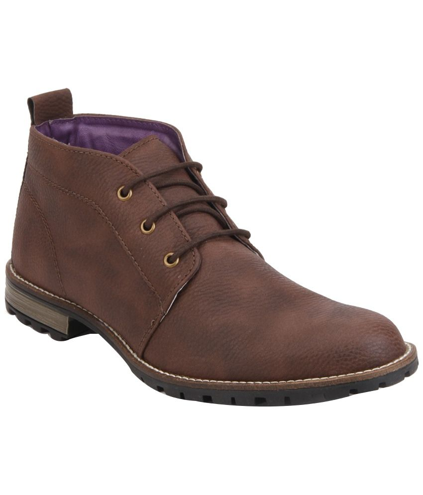 Knotty Derby Brown Boots