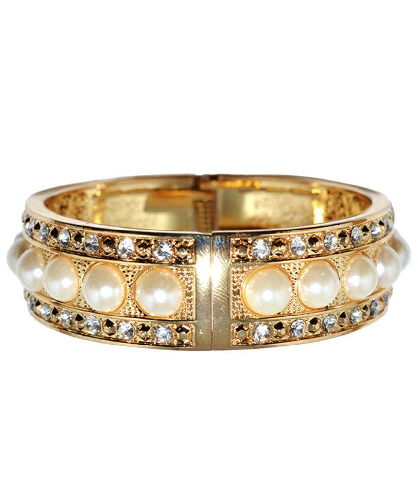 Moshiv Golden Brass Kada