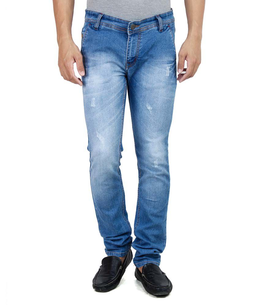 Stylox Blue Slim Fit Jeans