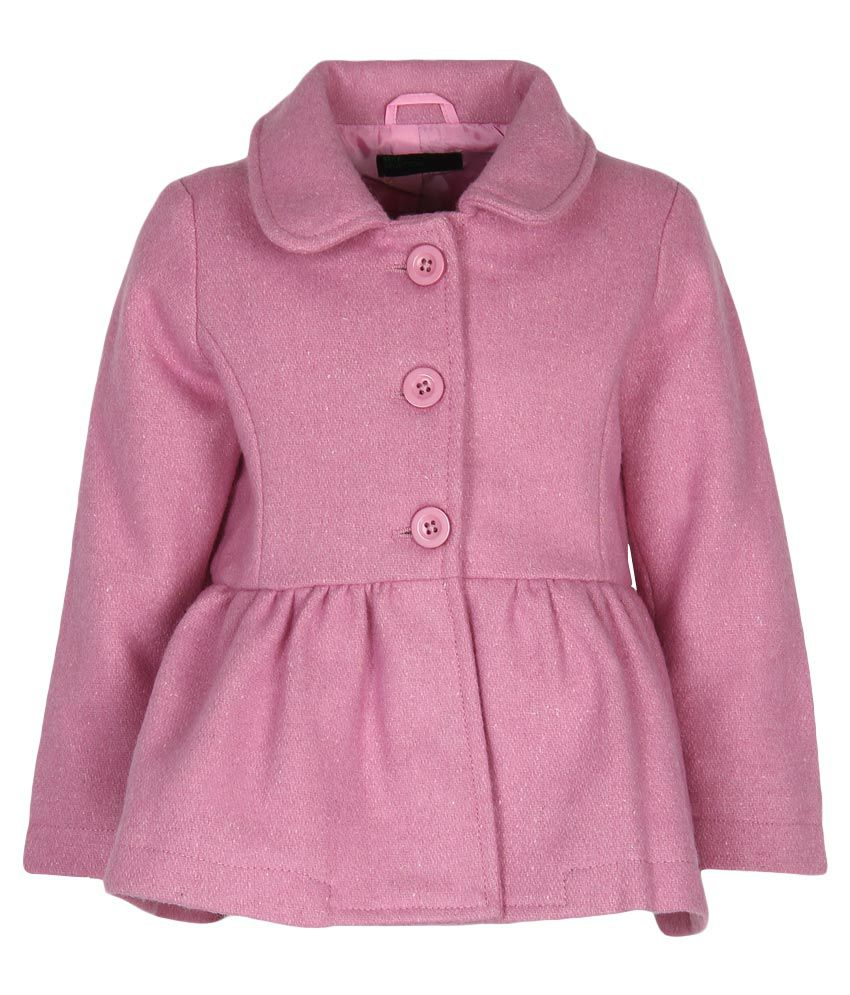 United Colors of Benetton Mauve Buttoned Jacket