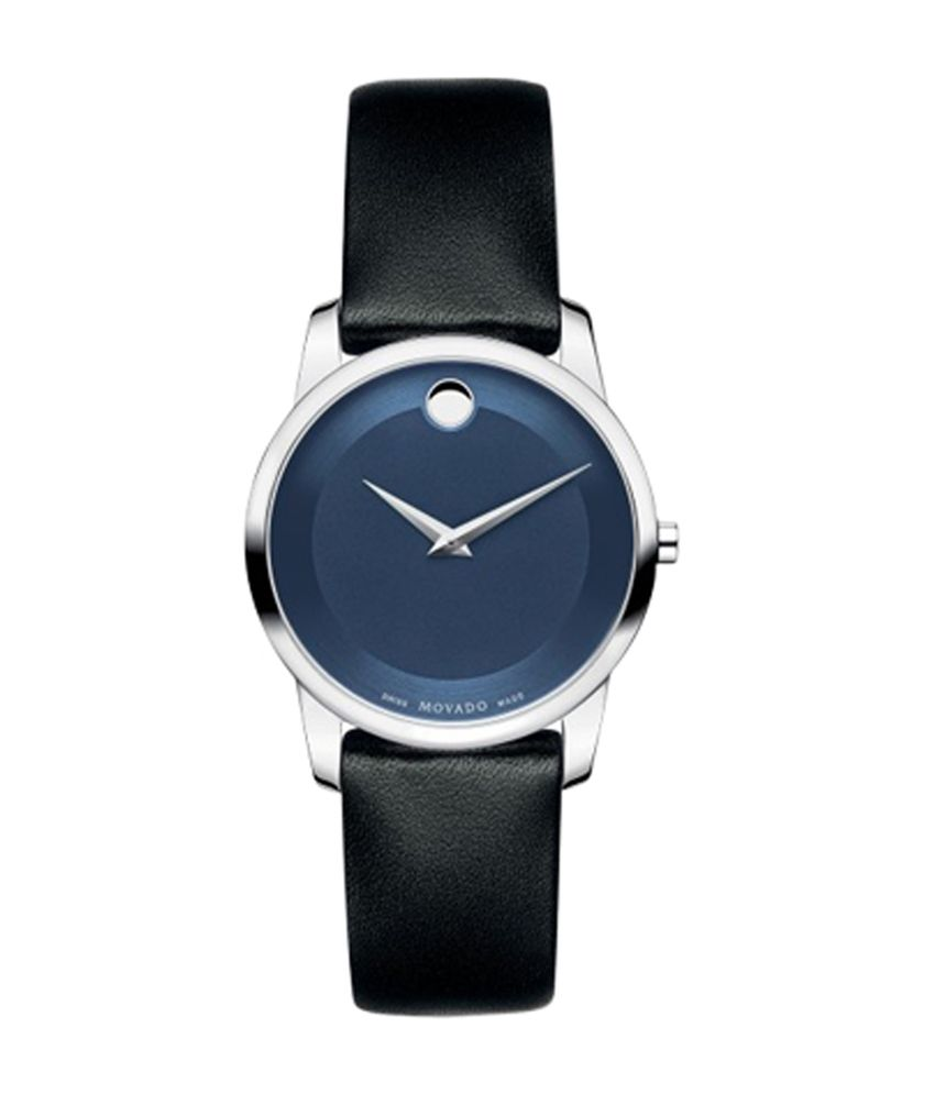 Movado Museum Blue Dial Analog Watch