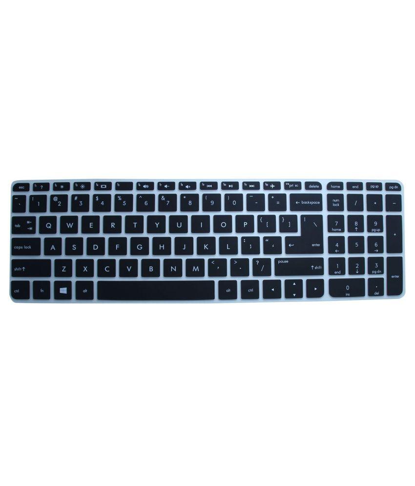 Saco Keyboard Protector For HP 15-ac040TU - Black