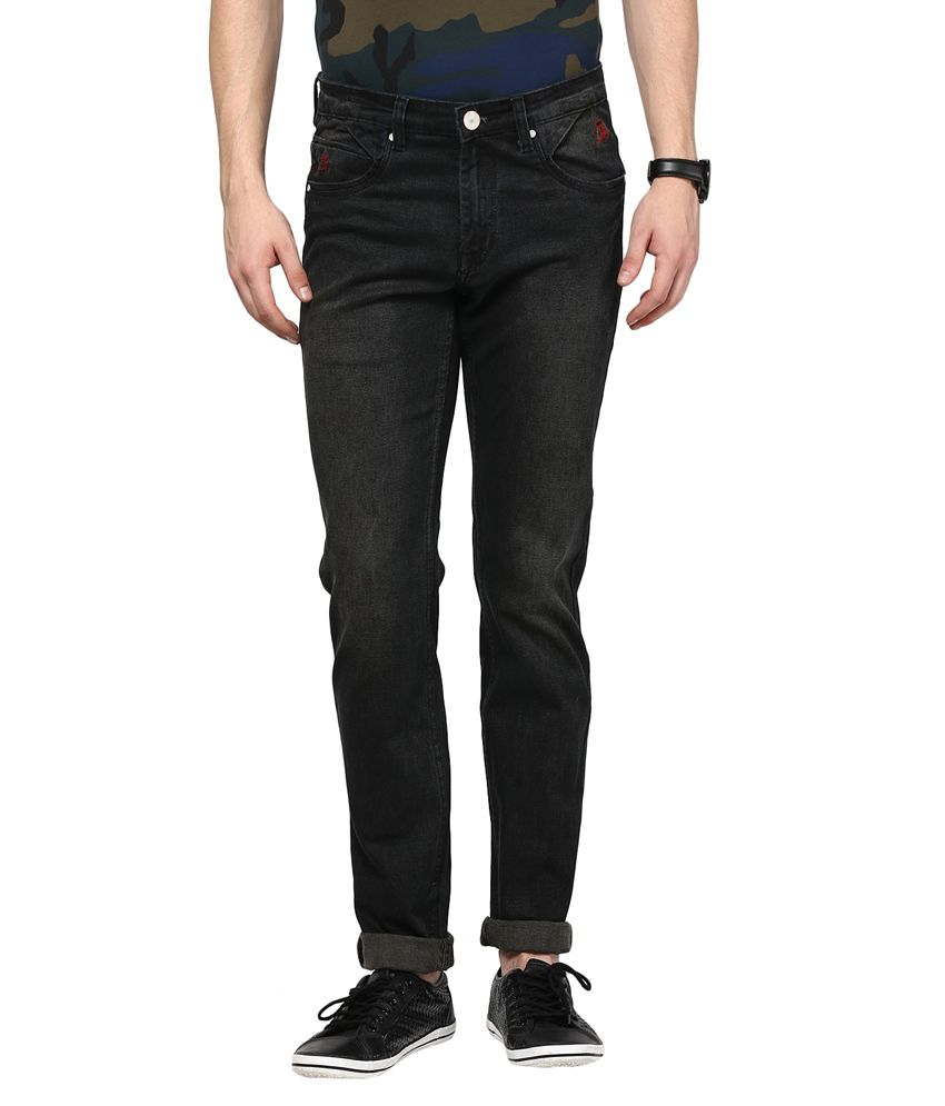 Urban Navy Black Slim Fit Jeans