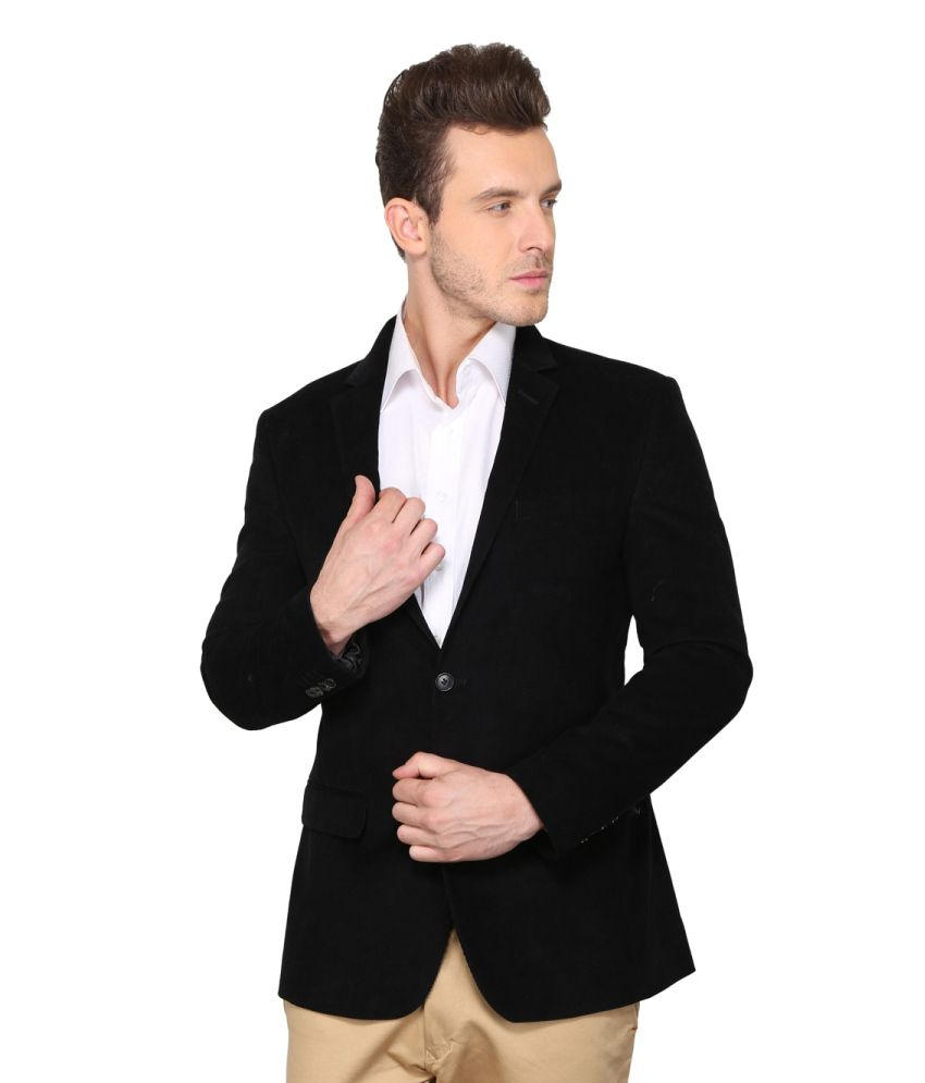 Envoy Black Casual Blazer