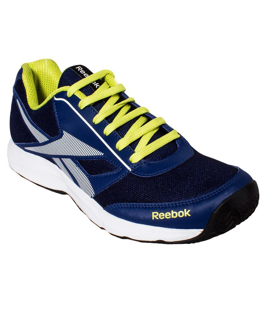 Navy Blue White And Gray Bedroom: Reebok Navy Blue & White Sport Shoes