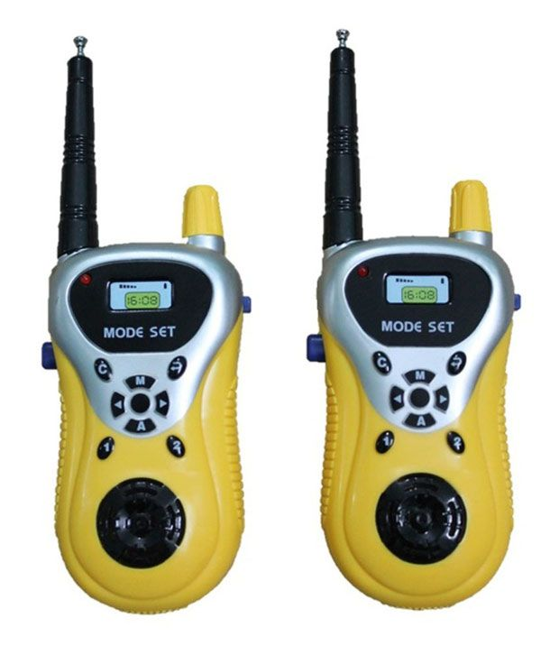 Little Grin Little Grin Battery Operated Walkie Talkie Gift Toy For Kids