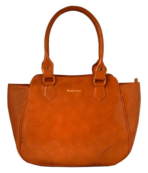 Hotberries Tan Zipped Shoulder Bag