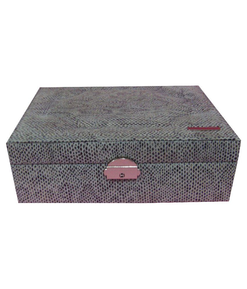 Jaws N Horns Leather Jewellery Box