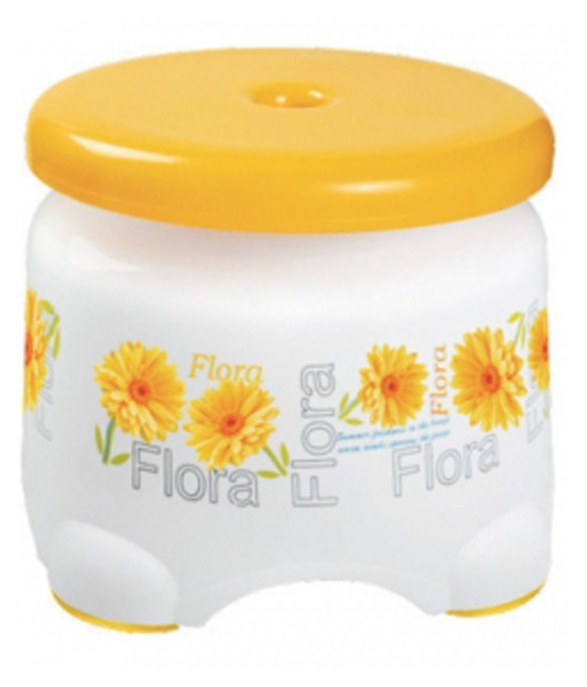 Buy Vinayaka White Plastic Bath Stool Online At Low Price
