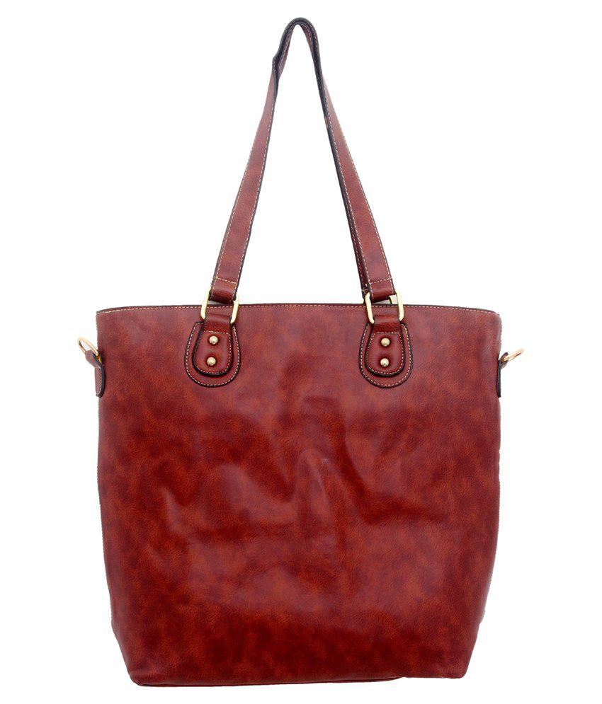 Justbags Shoulder Bag-Red