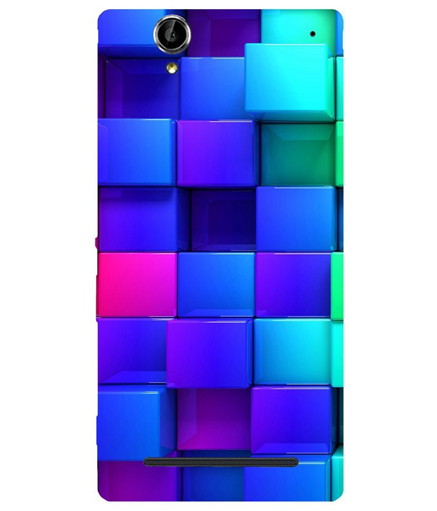 online retailer 37b14 722a7 Casotec Back Cover For Sony Xperia T2 Ultra - Multicolour