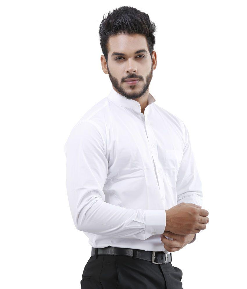 Lamode White Formal Shirt - Buy Lamode White Formal Shirt Online ...