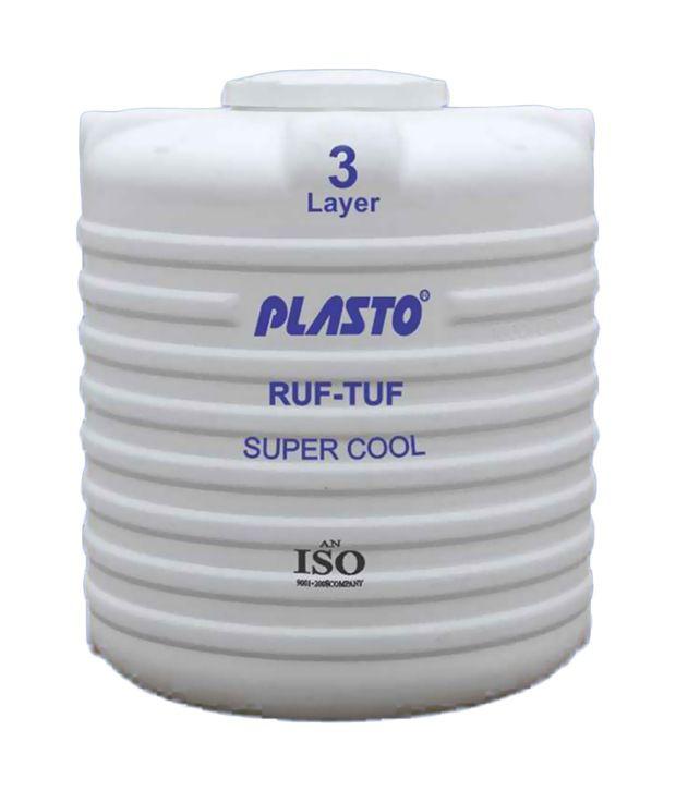 buy plasto white plastic water tank 10000 ltr online at low price