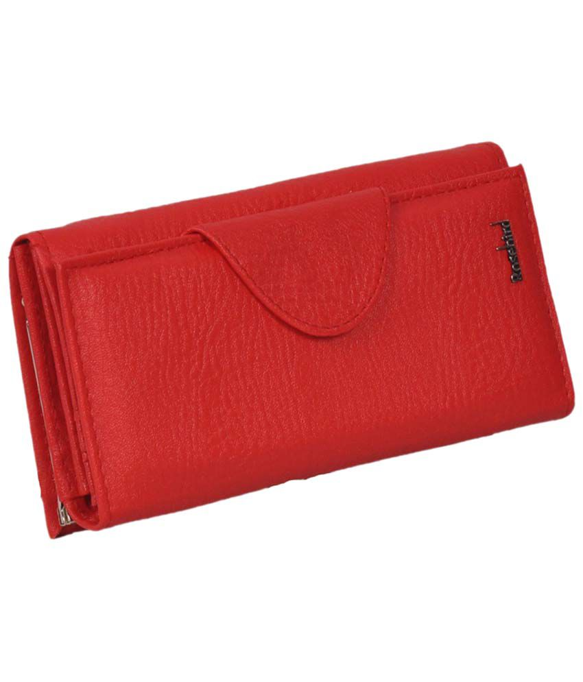 Diamonds World Red Leather Clutch Pack of 29