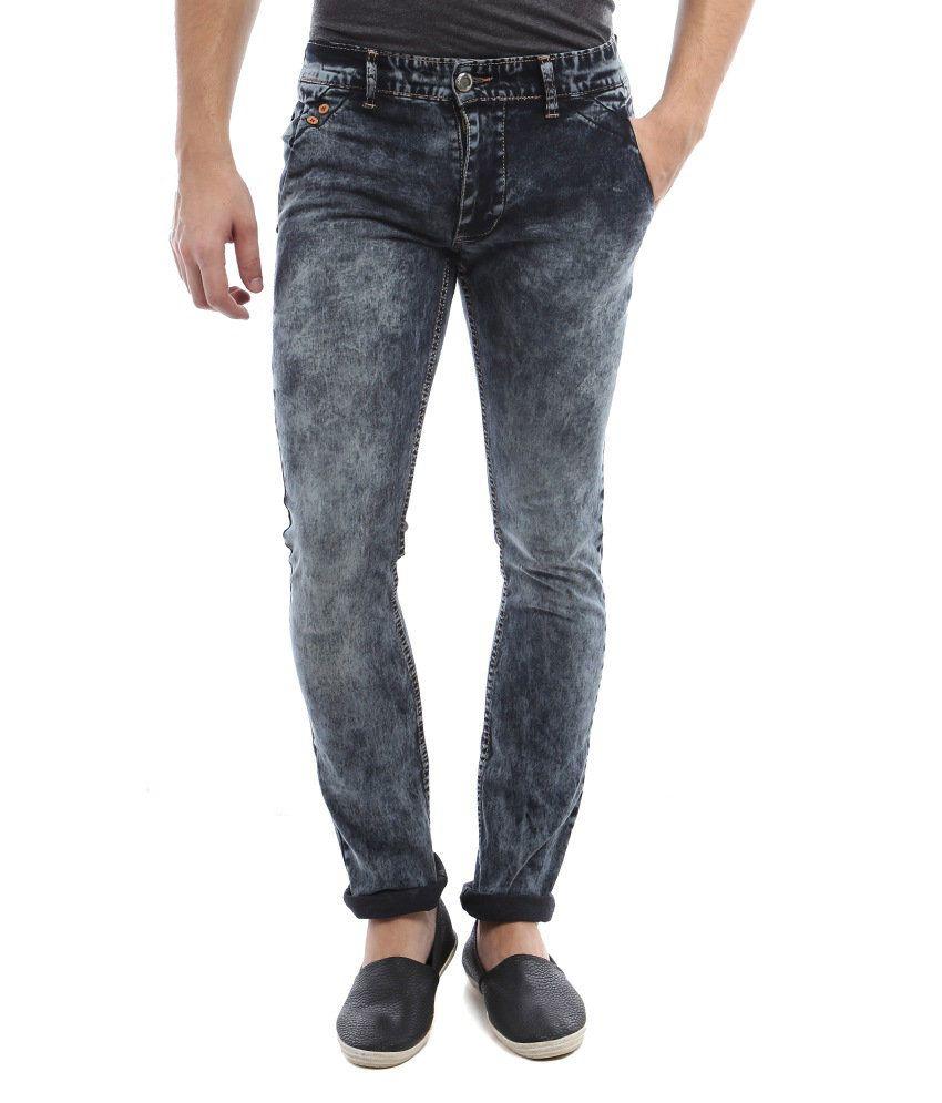 Vintage Blue Cotton Jeans