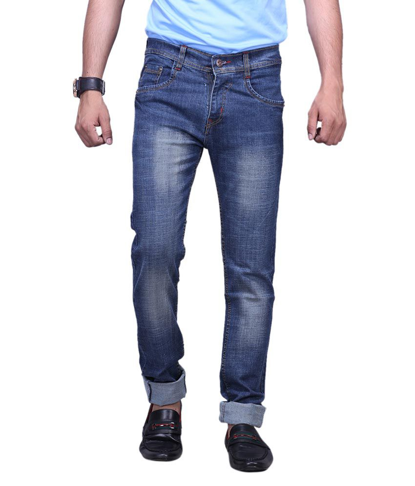 X-cross Blue Slim Fit Jeans