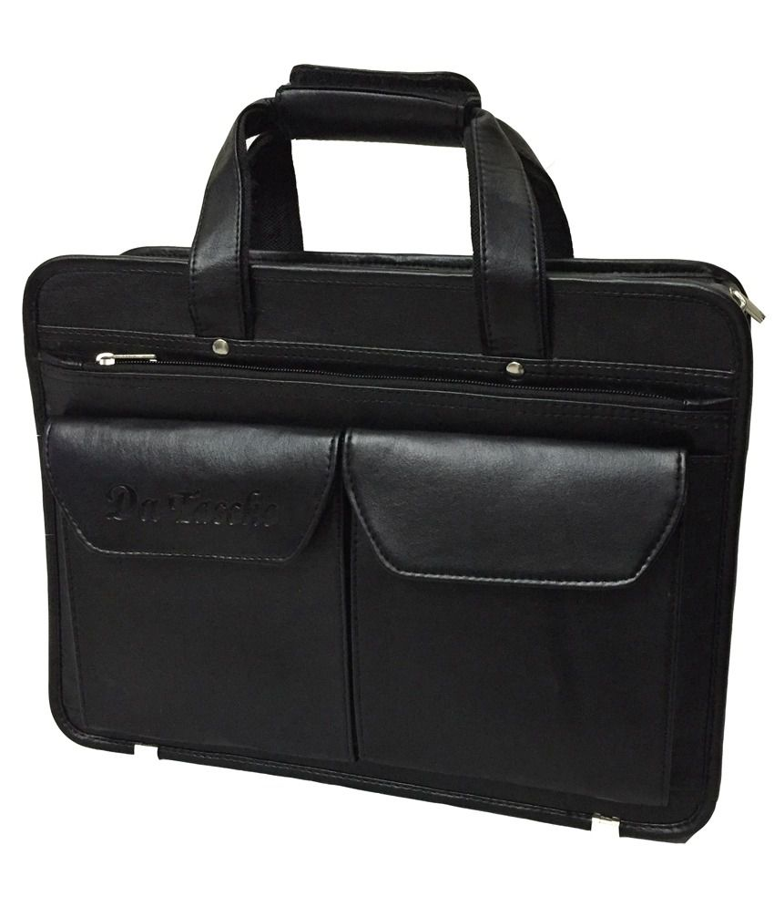 Da Tasche Black Laptop Bag