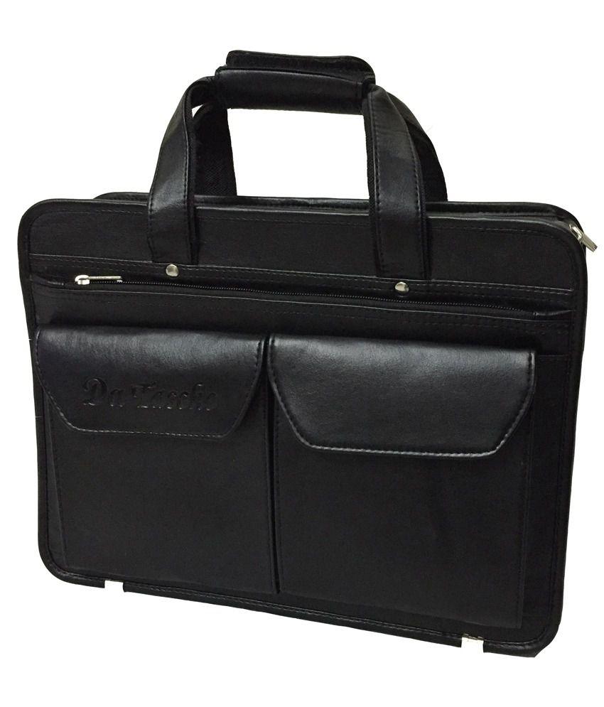 Da Tasche Black Laptop Bag