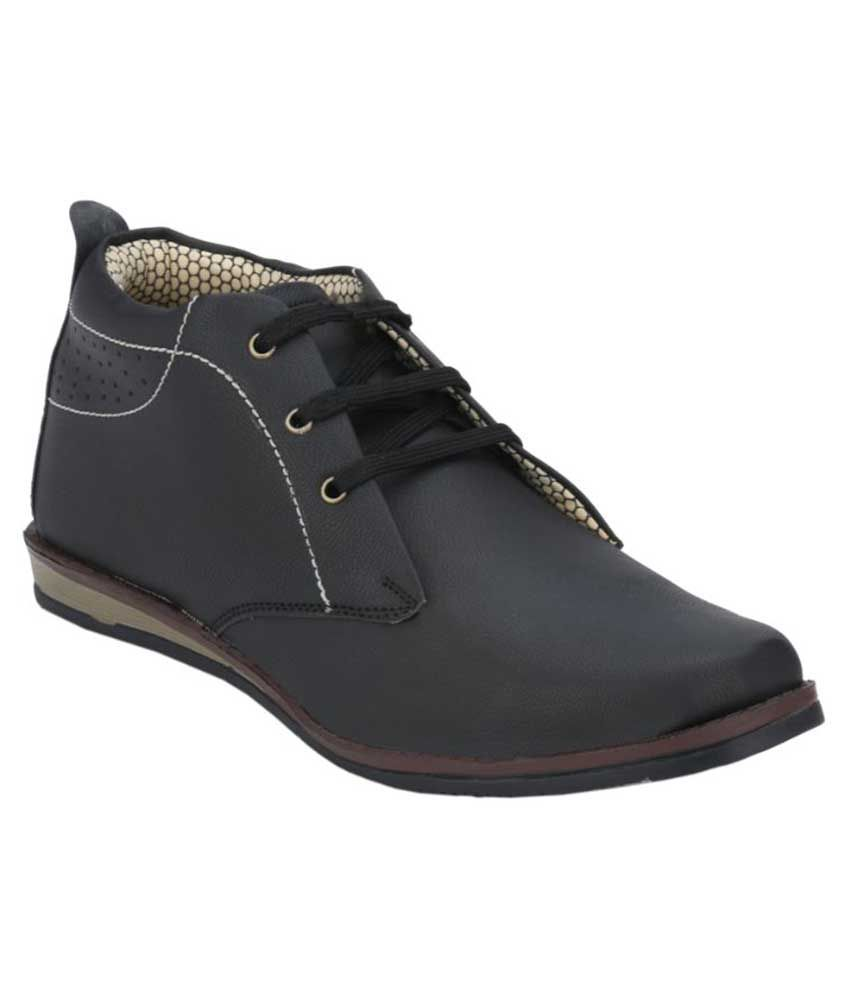 Menfolks Black Boots