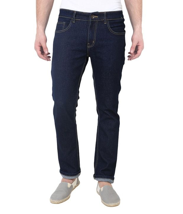Sciocco Navy Slim Fit Jeans