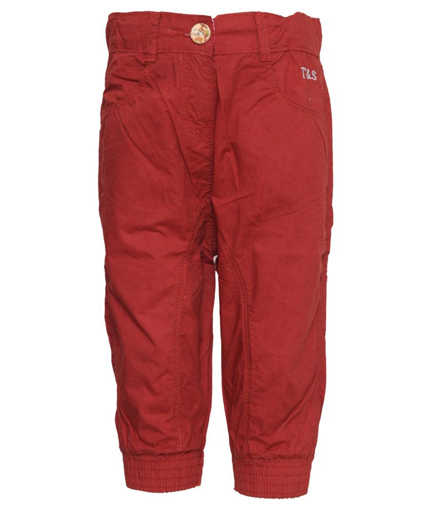 Tales And Stories Red Capris