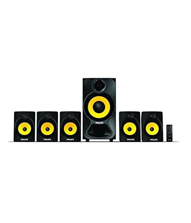 Philips-Spa3800b-Beat-5.1-Speaker-System-Black