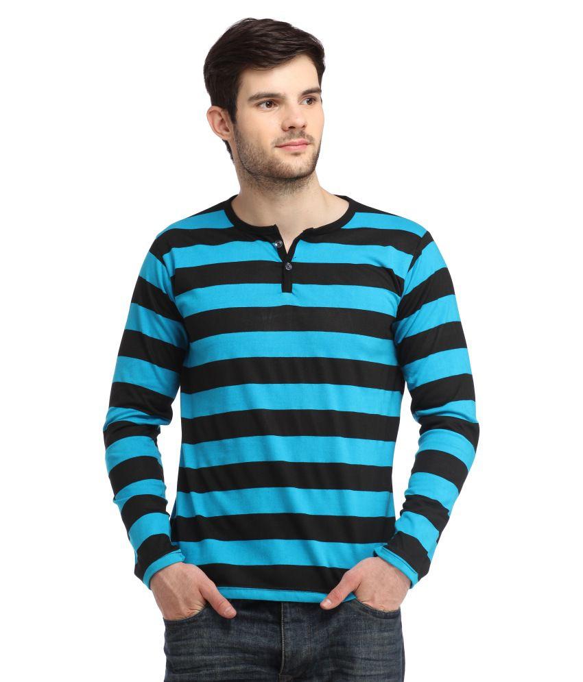 Bigidea Multicolour Cotton Blend T Shirt
