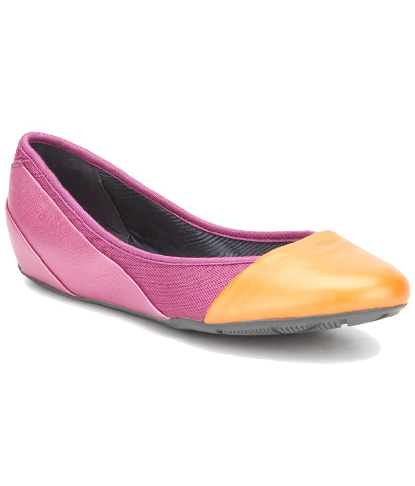 2ae07d90ff Clarks Pink Ballerinas Price in India- Buy Clarks Pink Ballerinas Online at  Snapdeal