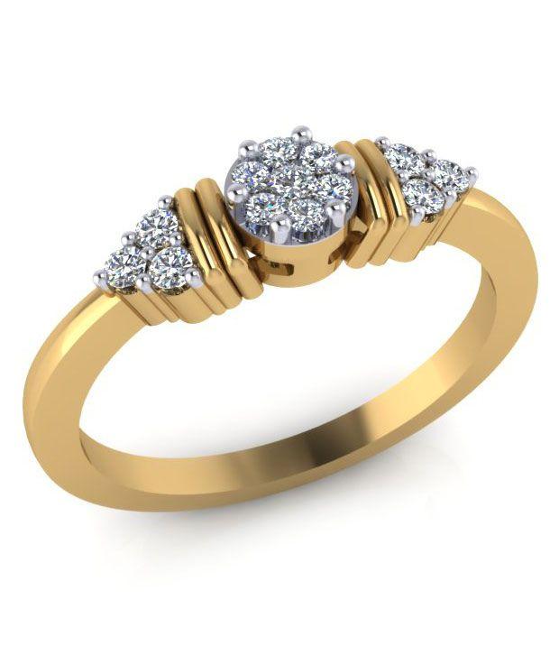 Eleglance Jewellery 18kt Gold Diamond Ring