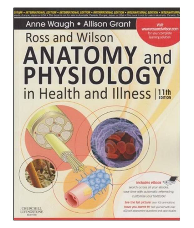 Ross And Wilson Anatomy And Physiology In Health And Illness 11Th ...