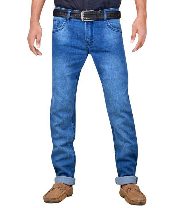 Killox Blue Slim Fit Jeans