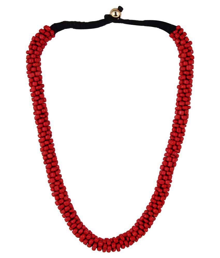 Kliqvik Red Thread Necklace