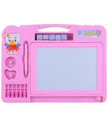 Koochi Koo Writing Board Cum Magic Slate - Pink