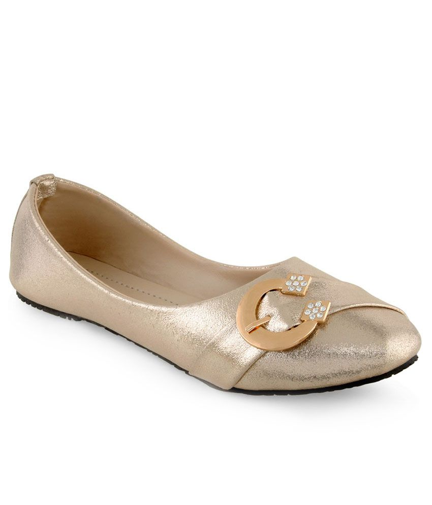Shoe Lab Goldenrod Ballerinas
