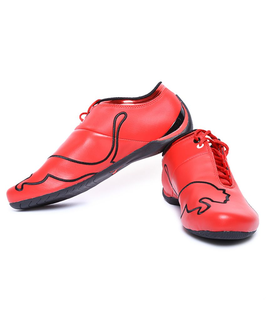 Puma Ferrari Future Cat M1 Red Sneaker Price in India- Buy Puma ... d5206593d727