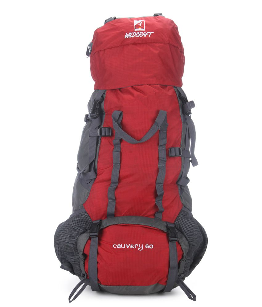 Wildcraft Red Hiking Backpack