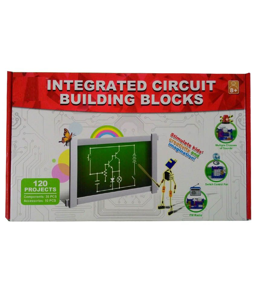 Azi Plastic Electronic Integrated Circuit Building Blocks 120 Electronics Projects