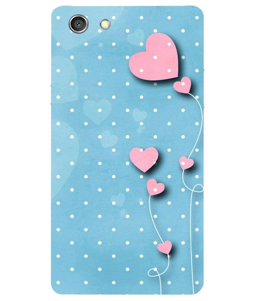 check out 78b25 c3ed0 RKMobiles Printed Back Cover Case For Oppo Neo 7 - Multicolor
