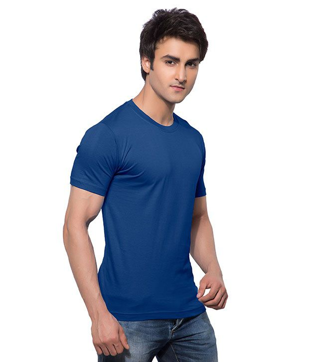 Calix Blue Cotton T-Shirt - Pack Of 3