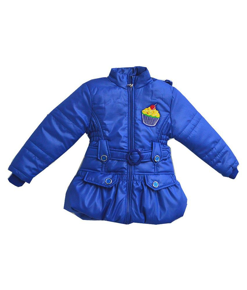 London Girl Blue Jacket For Girls