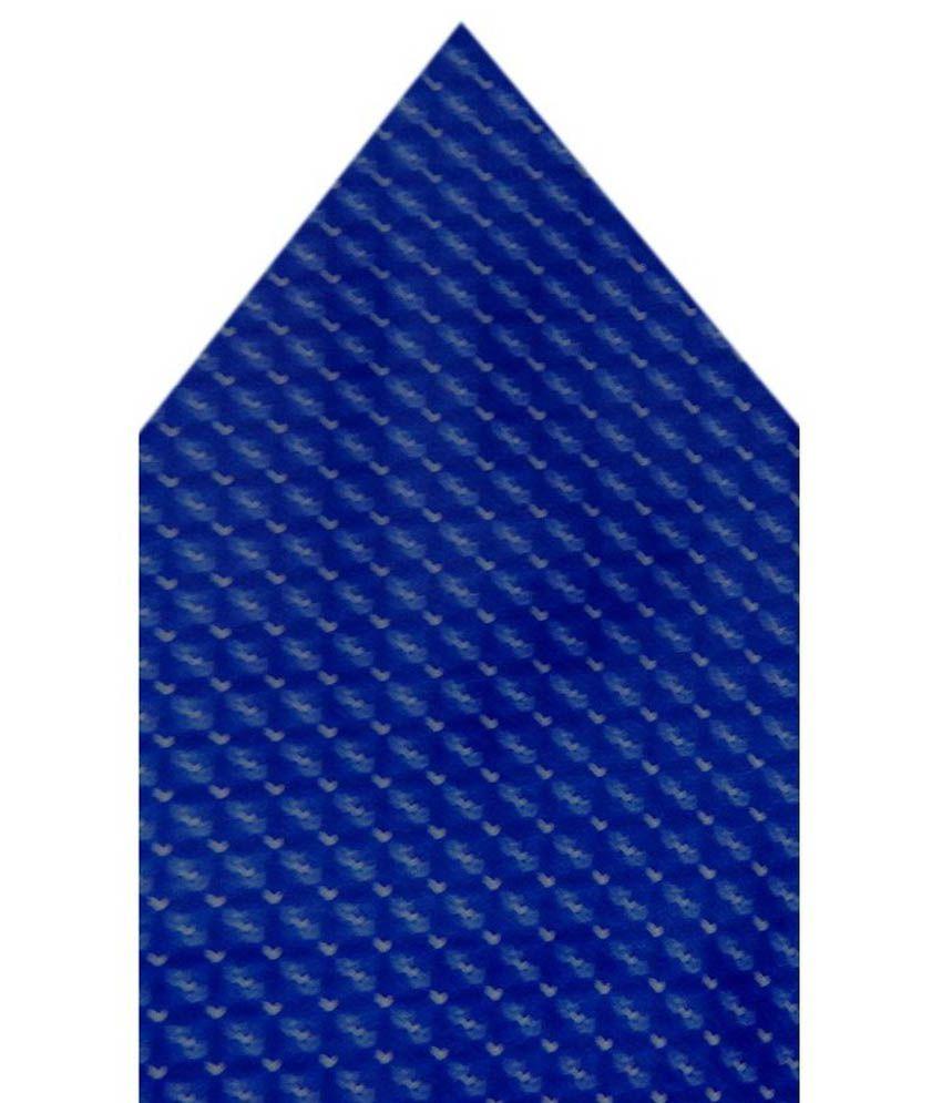 Navaksha Blue Micro Fiber Pocket Square