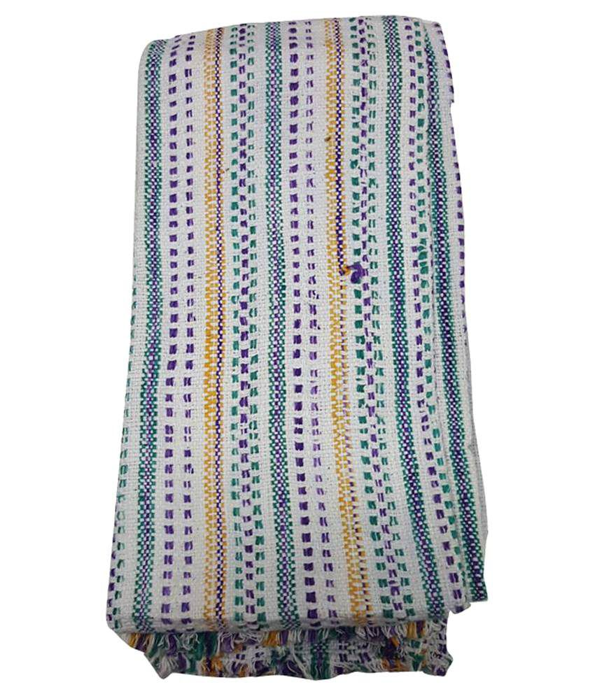 Siddharth International Multicolour Cotton Bath Towel