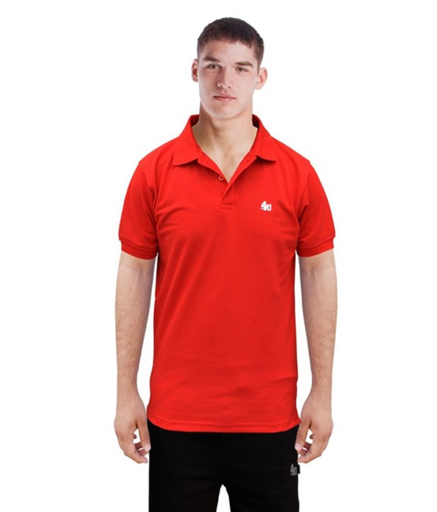 Sports T-shirt With Collar
