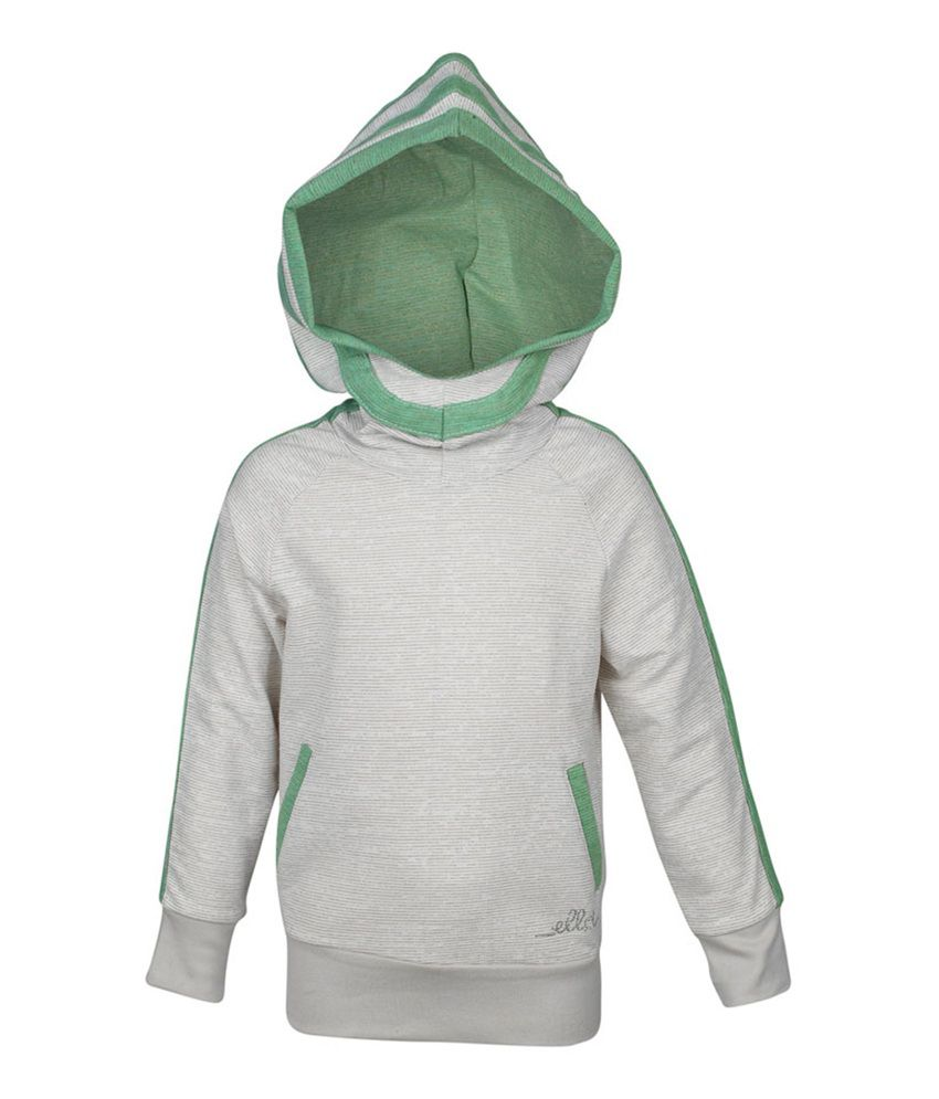 ELLO Gray With Hood Sweatshirt