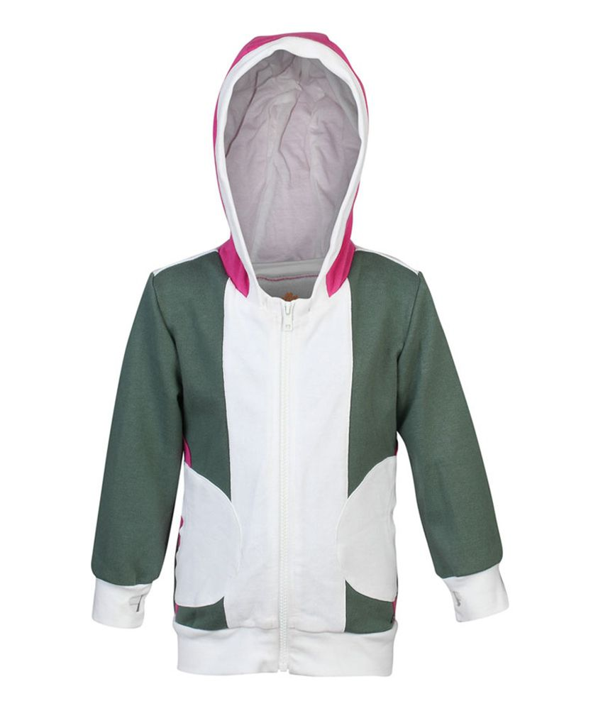 ELLO Gray With Hood Sweatshirt