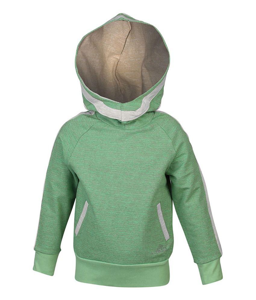 ELLO Green With Hood Sweatshirt